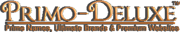 Prime Names, Ultimate Brands & Premium Websites