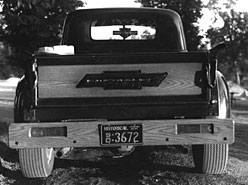 '50 Chevy 3/4 Ton Pickup Truck (Tailgate view)
