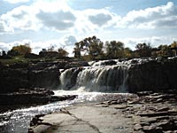 The Sioux Falls: The namesake of the city of Sioux Falls at Falls Park